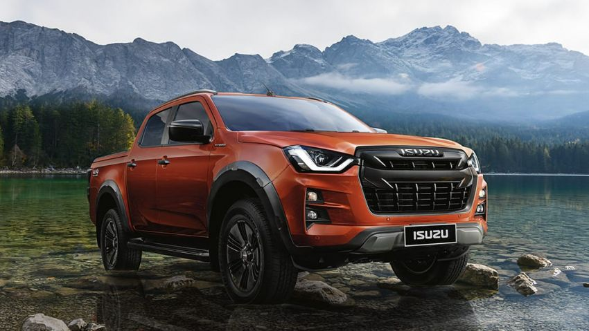 2020 Isuzu D-Max unveiled – third-gen pick-up gets big new grille, more tech and improved ride and handling Image #1029584
