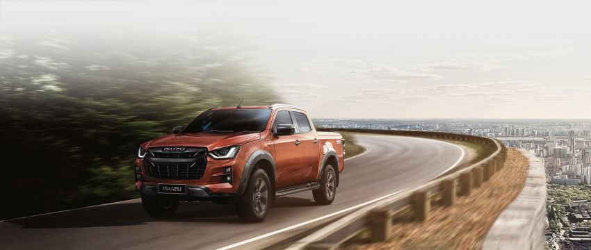 2020 Isuzu D-Max unveiled – third-gen pick-up gets big new grille, more tech and improved ride and handling Image #1029587