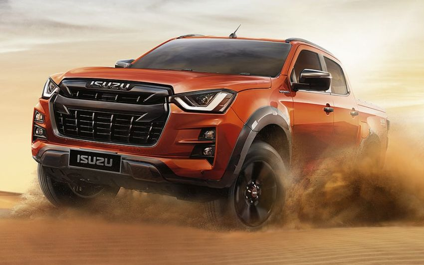 2020 Isuzu D-Max unveiled – third-gen pick-up gets big new grille, more tech and improved ride and handling Image #1029580