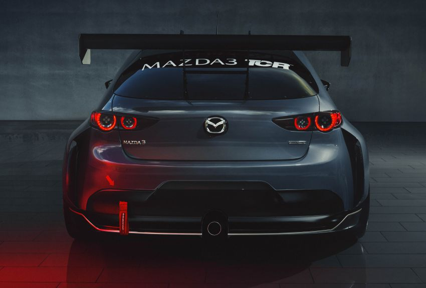 2020 Mazda 3 TCR unveiled – 2.0L turbo with 350 hp Image #1024353
