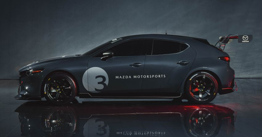 2020 Mazda 3 TCR unveiled – 2.0L turbo with 350 hp Image #1024354
