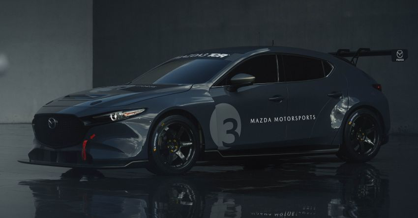 2020 Mazda 3 TCR unveiled – 2.0L turbo with 350 hp Image #1024355