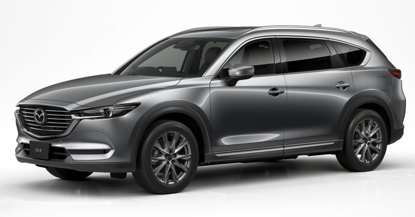 2020 Mazda CX-8 gets a number of updates in Japan Image #1037139