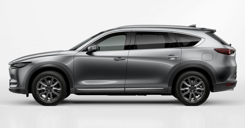 2020 Mazda CX-8 gets a number of updates in Japan Image #1037140