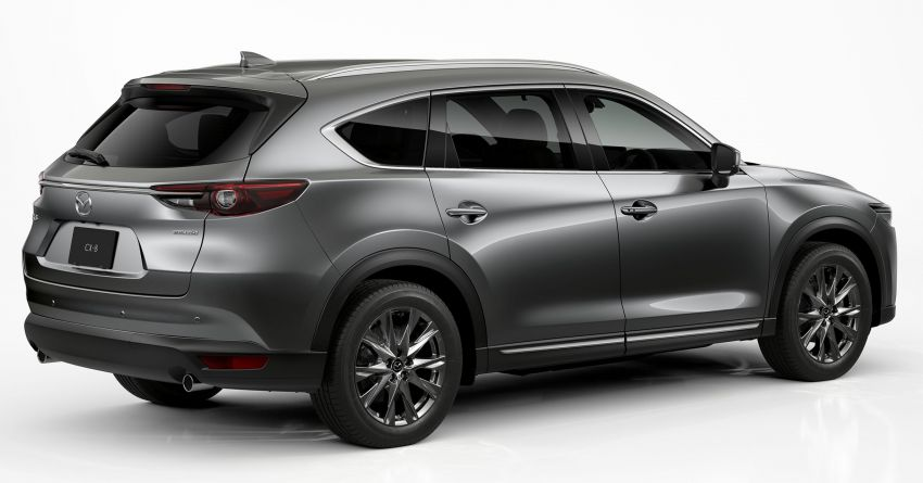 2020 Mazda CX-8 gets a number of updates in Japan Image #1037142