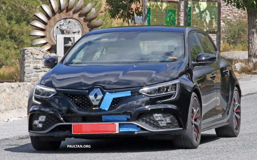 SPYSHOTS: Renault Megane RS Trophy facelift seen? Image #1027290