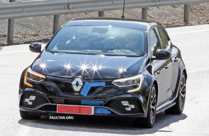 SPYSHOTS: Renault Megane RS Trophy facelift seen? Image #1027297