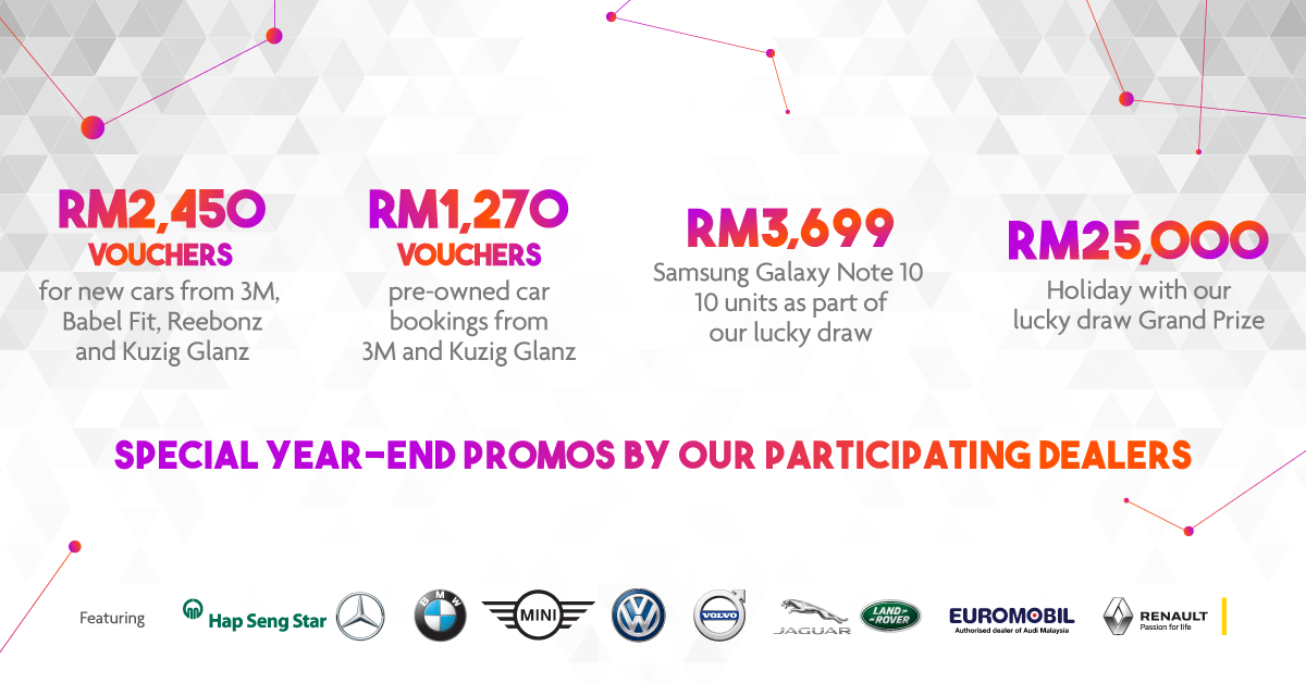 <em>paultan.org</em> PACE 2019 this Nov – additional promos now at RM2,450 for new cars, RM1,270 for pre-owned Image #1023928