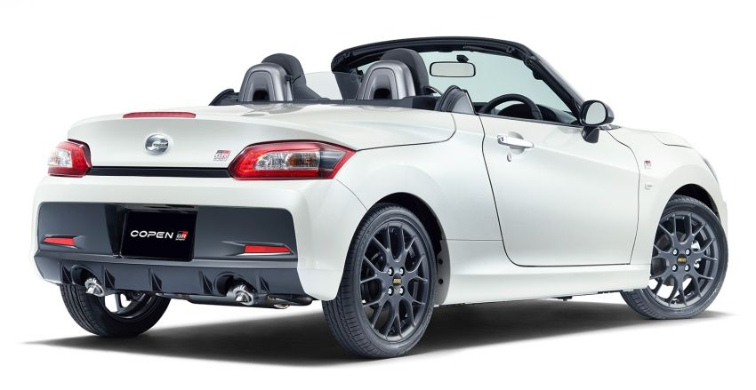 Toyota unveils production Copen GR Sport roadster Image #1030626