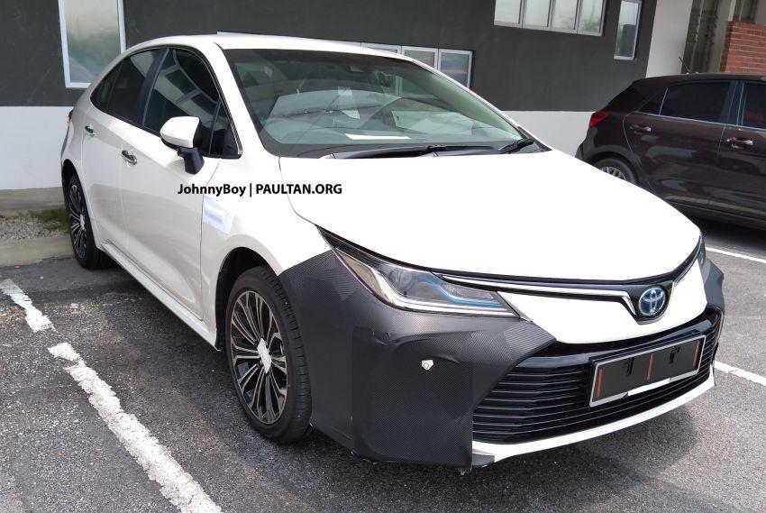 SPYSHOTS: New Toyota Corolla Hybrid in Malaysia Image #1029919