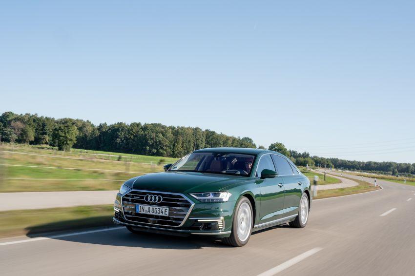 D5 Audi A8L 60 TFSI e quattro plug-in hybrid – 449 PS, 700 Nm, 2.5 litres per 100 km, 46 km electric range Image #1032177