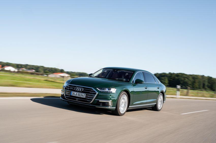 D5 Audi A8L 60 TFSI e quattro plug-in hybrid – 449 PS, 700 Nm, 2.5 litres per 100 km, 46 km electric range Image #1032178