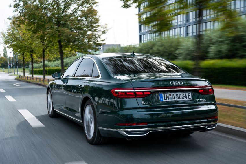D5 Audi A8L 60 TFSI e quattro plug-in hybrid – 449 PS, 700 Nm, 2.5 litres per 100 km, 46 km electric range Image #1032165