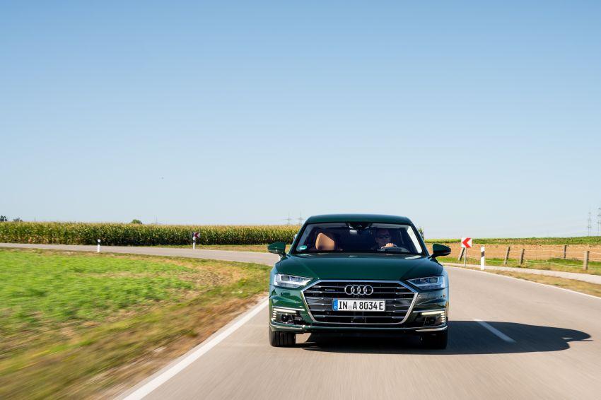 D5 Audi A8L 60 TFSI e quattro plug-in hybrid – 449 PS, 700 Nm, 2.5 litres per 100 km, 46 km electric range Image #1032185