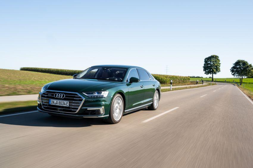 D5 Audi A8L 60 TFSI e quattro plug-in hybrid – 449 PS, 700 Nm, 2.5 litres per 100 km, 46 km electric range Image #1032187