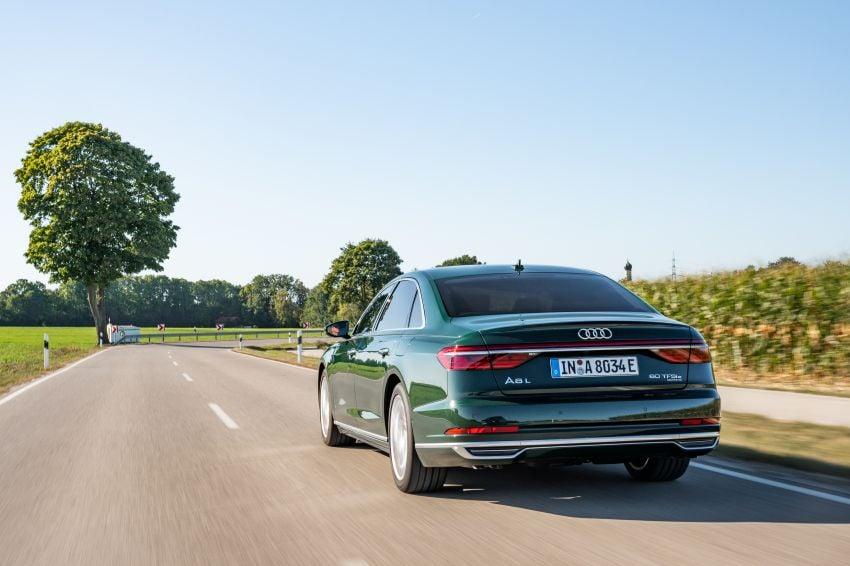 D5 Audi A8L 60 TFSI e quattro plug-in hybrid – 449 PS, 700 Nm, 2.5 litres per 100 km, 46 km electric range Image #1032191