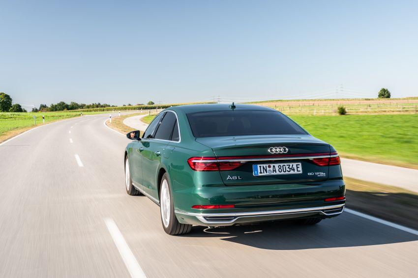 D5 Audi A8L 60 TFSI e quattro plug-in hybrid – 449 PS, 700 Nm, 2.5 litres per 100 km, 46 km electric range Image #1032192