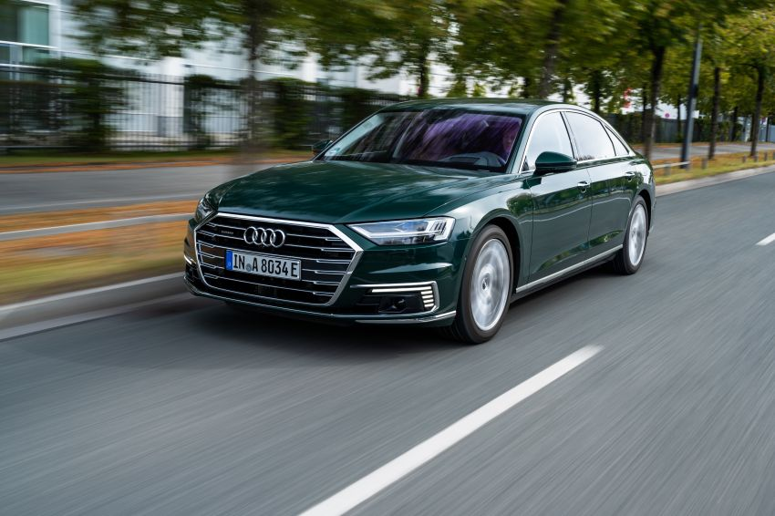 D5 Audi A8L 60 TFSI e quattro plug-in hybrid – 449 PS, 700 Nm, 2.5 litres per 100 km, 46 km electric range Image #1032168