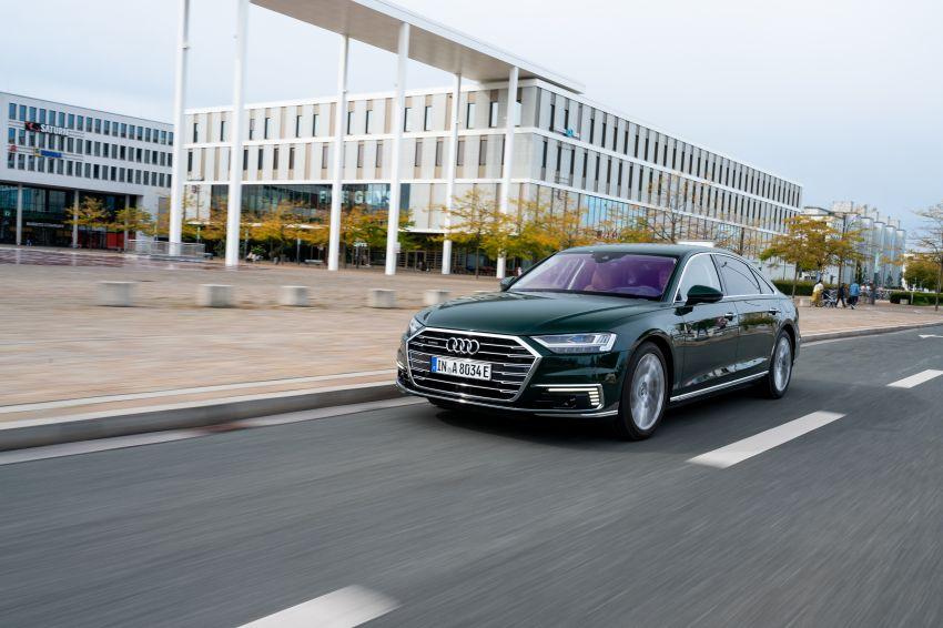 D5 Audi A8L 60 TFSI e quattro plug-in hybrid – 449 PS, 700 Nm, 2.5 litres per 100 km, 46 km electric range Image #1032171