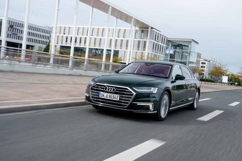 D5 Audi A8L 60 TFSI e quattro plug-in hybrid – 449 PS, 700 Nm, 2.5 litres per 100 km, 46 km electric range Image #1032173