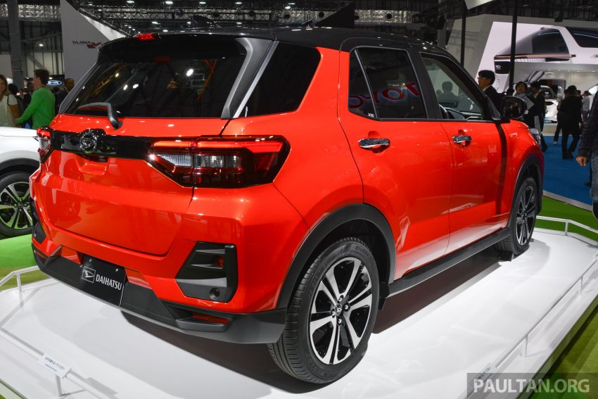 Tokyo 2019: Daihatsu previews new compact SUV – is this an early look at Perodua's D55L B-segment SUV? Image #1034238