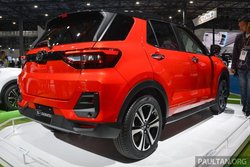 Tokyo 2019: Daihatsu previews new compact SUV – is this an early look at Perodua's D55L B-segment SUV? Image #1034239