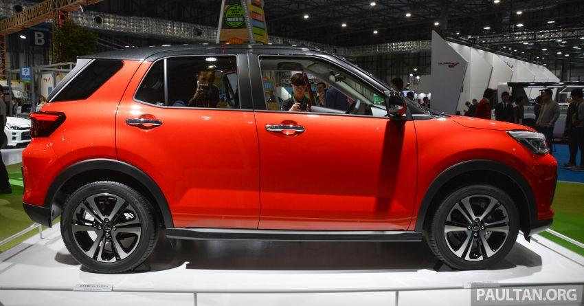 Tokyo 2019: Daihatsu tayang SUV kompak baharu – imej awal bagi SUV segmen-B D55L Perodua? Image #1034546