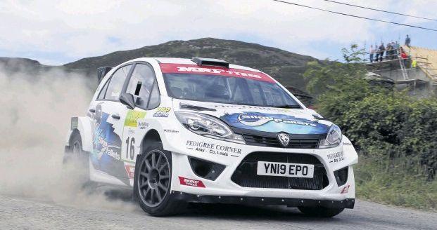 Eugene Donnelly juara kategori RC2 nasional dengan Proton Iriz R5 di Cork 20 International Rally 2019 Image #1023989