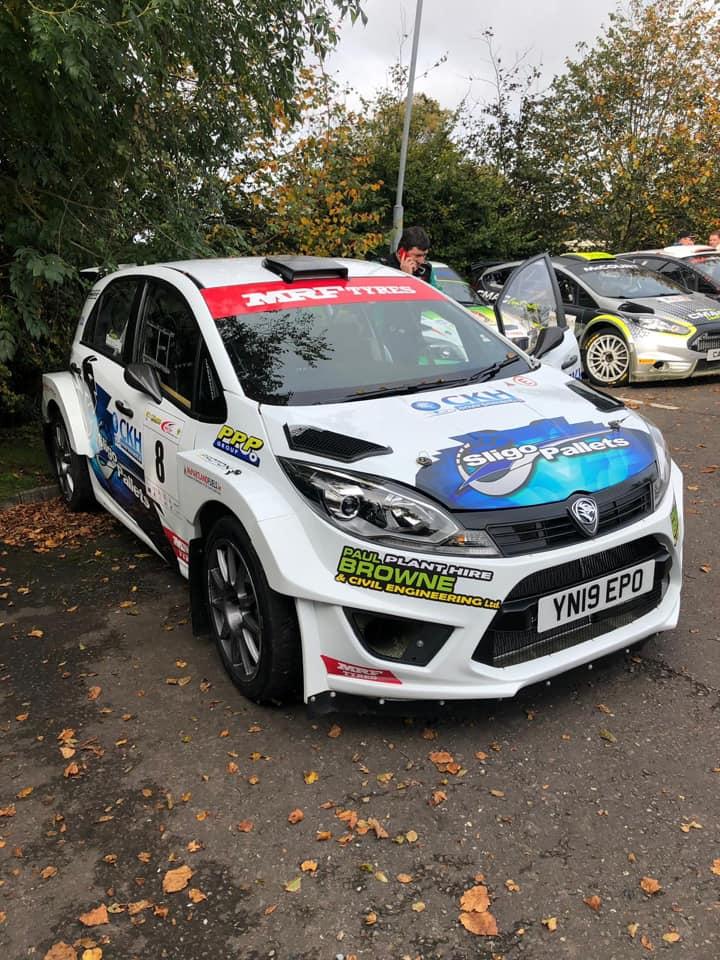 Eugene Donnelly juara kategori RC2 nasional dengan Proton Iriz R5 di Cork 20 International Rally 2019 Image #1023973