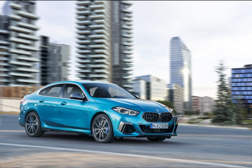 F44 BMW 2 Series Gran Coupé debuts – FWD four-door coupé is Munich's answer to Mercedes CLA Image #1030826