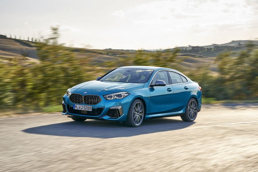 F44 BMW 2 Series Gran Coupé debuts – FWD four-door coupé is Munich's answer to Mercedes CLA Image #1030852