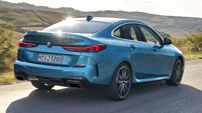 F44 BMW 2 Series Gran Coupé debuts – FWD four-door coupé is Munich's answer to Mercedes CLA Image #1030855