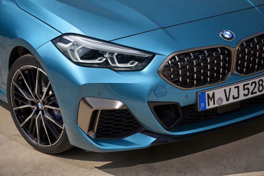 F44 BMW 2 Series Gran Coupé debuts – FWD four-door coupé is Munich's answer to Mercedes CLA Image #1030859
