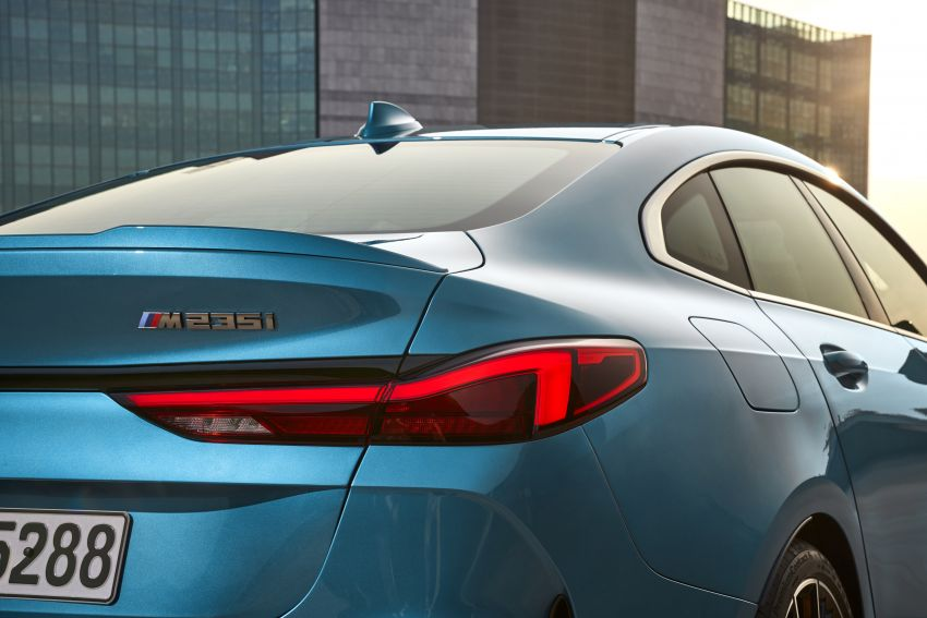 F44 BMW 2 Series Gran Coupé debuts – FWD four-door coupé is Munich's answer to Mercedes CLA Image #1030864