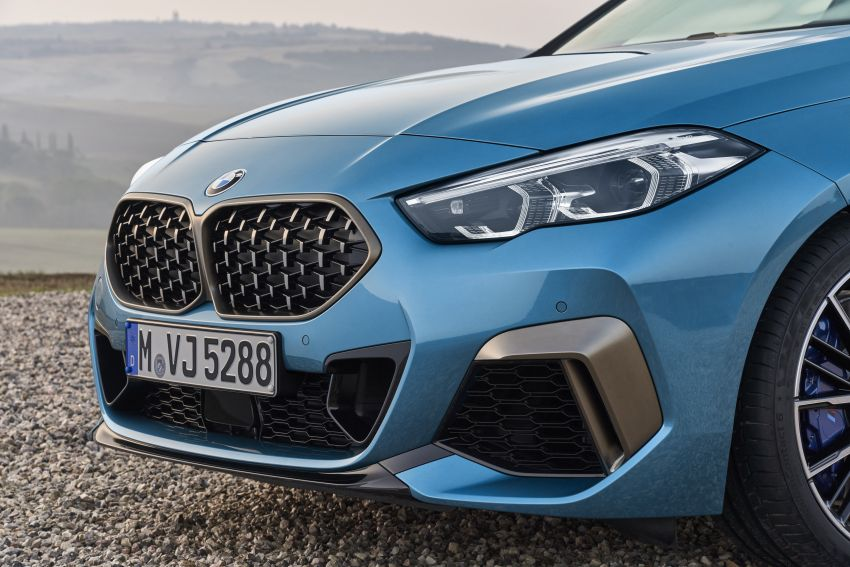 F44 BMW 2 Series Gran Coupé debuts – FWD four-door coupé is Munich's answer to Mercedes CLA Image #1030867