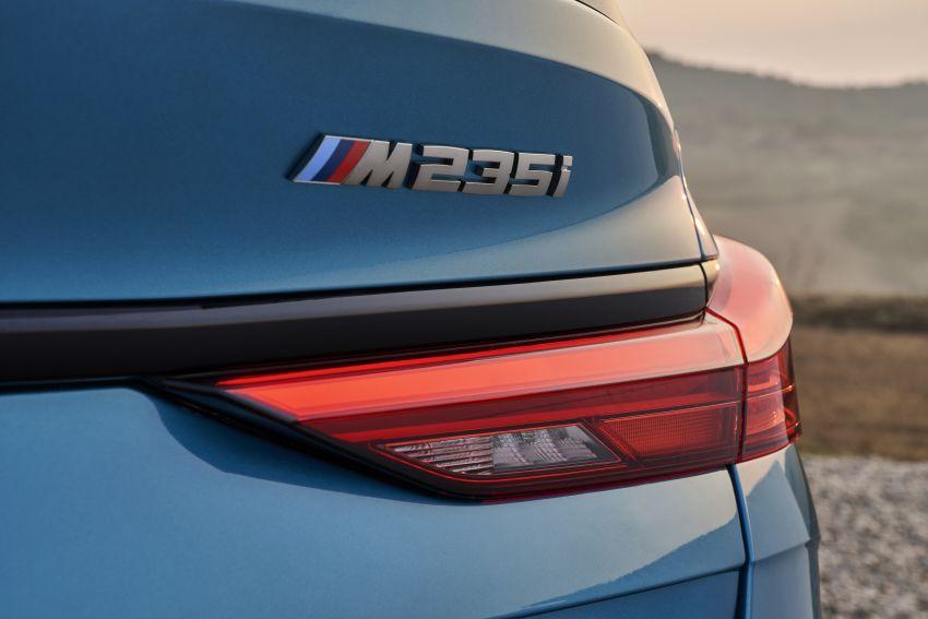 F44 BMW 2 Series Gran Coupé debuts – FWD four-door coupé is Munich's answer to Mercedes CLA Image #1030869