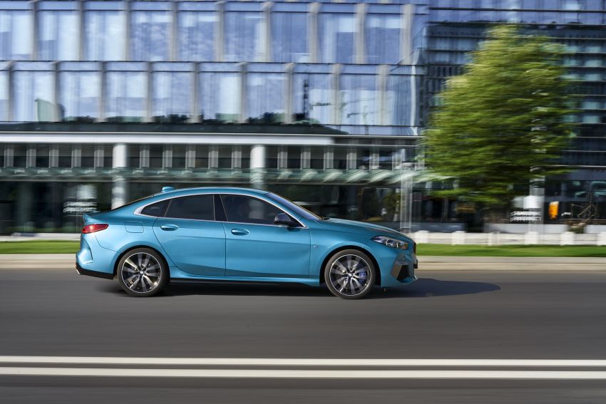 F44 BMW 2 Series Gran Coupé debuts – FWD four-door coupé is Munich's answer to Mercedes CLA Image #1030878