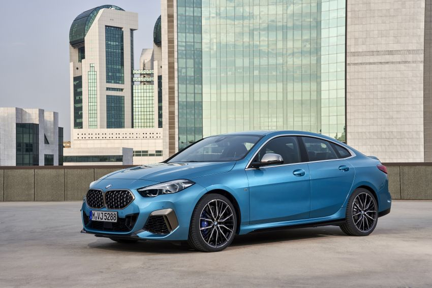 F44 BMW 2 Series Gran Coupé debuts – FWD four-door coupé is Munich's answer to Mercedes CLA Image #1030879