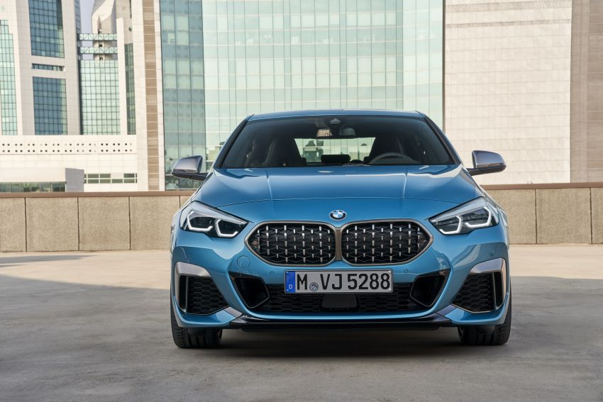 F44 BMW 2 Series Gran Coupé debuts – FWD four-door coupé is Munich's answer to Mercedes CLA Image #1030882