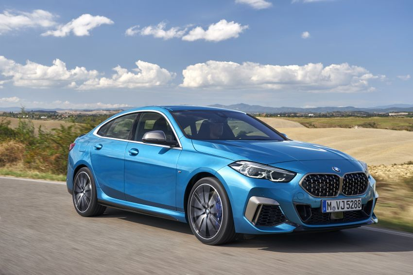 F44 BMW 2 Series Gran Coupé debuts – FWD four-door coupé is Munich's answer to Mercedes CLA Image #1030828