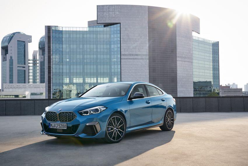 F44 BMW 2 Series Gran Coupé debuts – FWD four-door coupé is Munich's answer to Mercedes CLA Image #1030886
