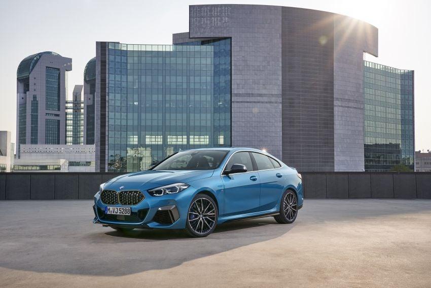 F44 BMW 2 Series Gran Coupé debuts – FWD four-door coupé is Munich's answer to Mercedes CLA Image #1030890