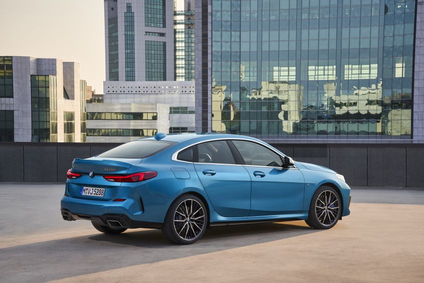 F44 BMW 2 Series Gran Coupé debuts – FWD four-door coupé is Munich's answer to Mercedes CLA Image #1030891