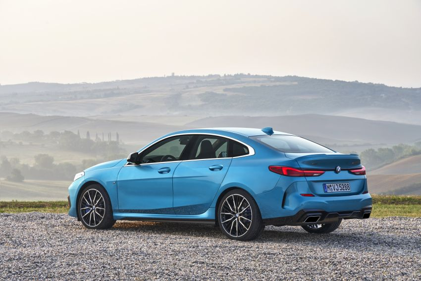 F44 BMW 2 Series Gran Coupé debuts – FWD four-door coupé is Munich's answer to Mercedes CLA Image #1030895