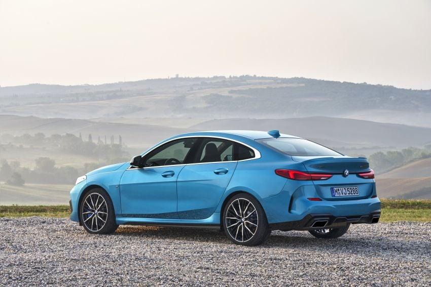 F44 BMW 2 Series Gran Coupé debuts – FWD four-door coupé is Munich's answer to Mercedes CLA Image #1030895
