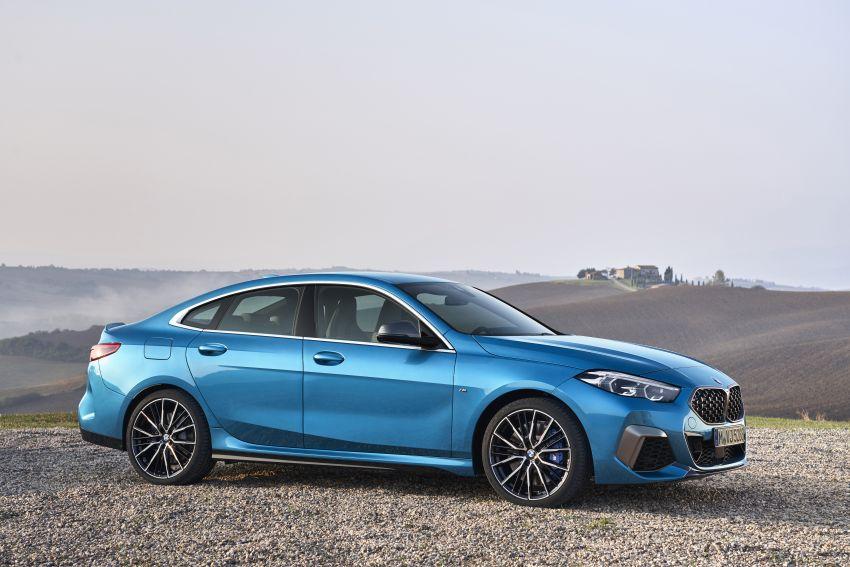F44 BMW 2 Series Gran Coupé debuts – FWD four-door coupé is Munich's answer to Mercedes CLA Image #1030903