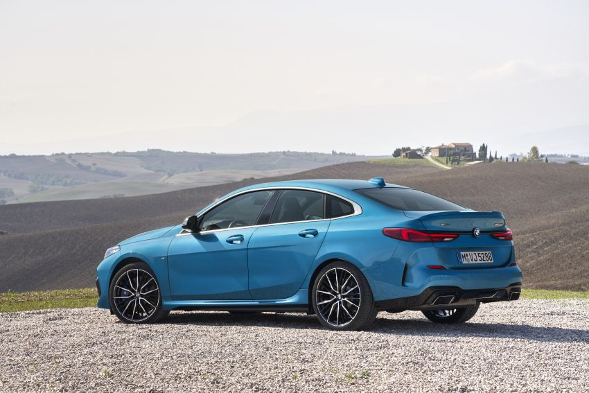 F44 BMW 2 Series Gran Coupé debuts – FWD four-door coupé is Munich's answer to Mercedes CLA Image #1030907