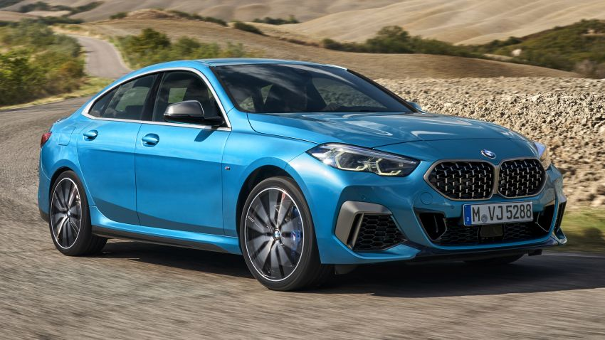 F44 BMW 2 Series Gran Coupé debuts – FWD four-door coupé is Munich's answer to Mercedes CLA Image #1030829