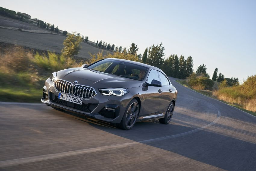 F44 BMW 2 Series Gran Coupé debuts – FWD four-door coupé is Munich's answer to Mercedes CLA Image #1030908