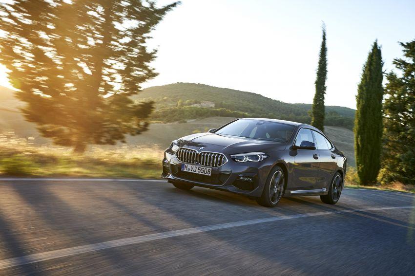 F44 BMW 2 Series Gran Coupé debuts – FWD four-door coupé is Munich's answer to Mercedes CLA Image #1030909